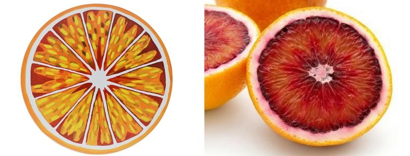 orange peinture